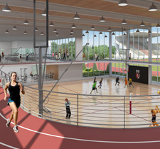 Student Recreation Center and McNeal Pavilion
