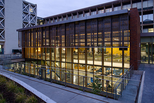 UO Price Science Commons Library designed by Opsis Architecture