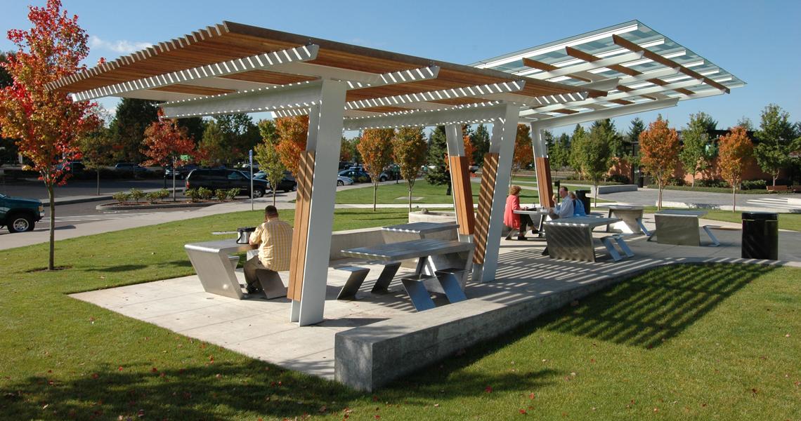 Wilsonville Park Shelters